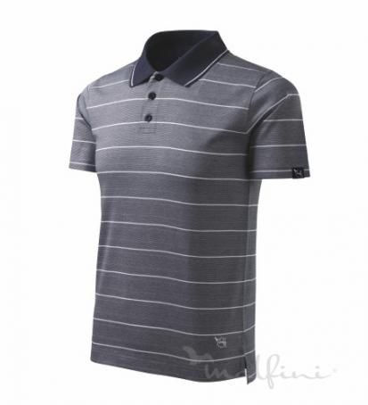 Malfini Tricou polo Spirit striped